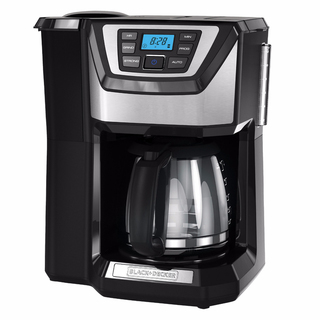 B&D Programmable Coffee Maker w Integrated Grinder - CM5000BD