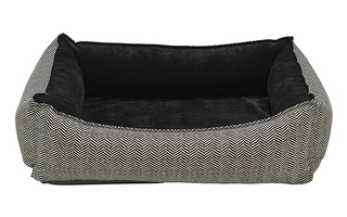 Bowsers Oslo Ortho Bed - Small - Herringbone - 14385