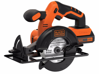 B&D 20V MAX  Lithium Circular Saw with 1 Battery - BDCCS20C