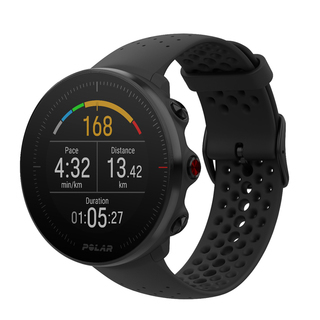 Polar Vantage M All-in-One GPS Multisport Watch - VANTAGE-M-BLK-ML