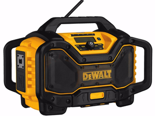 DeWalt Bluetooth Worksite Charger Radio - DCR025