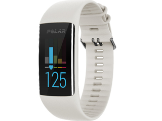Polar Fitness Tracker w Optical HR Monitor - White - A370SM-WHT