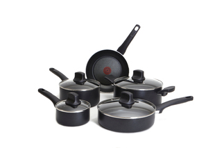 T-Fal Intuition 9-Piece Cookware Set - C526SC54