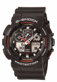 Casio G-Shock Ana-Digi Watch - GA100-1A4
