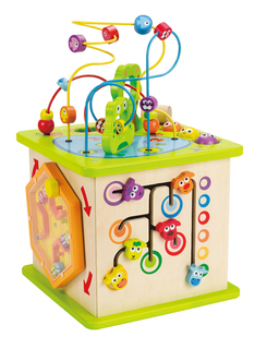 Hape Country Critters Play Cube - E1810