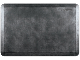 WellnessMats Anti-Fatigue Mat - Linen Collection - Onyx - EL32WMRBNBLK
