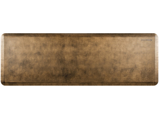 WellnessMats Anti-Fatigue Mat - Linen Collection - Bronze - EL62WMRBGBLK
