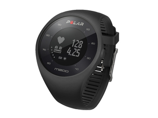 Polar Smart GPS Running Watch - Black - M200-BLK