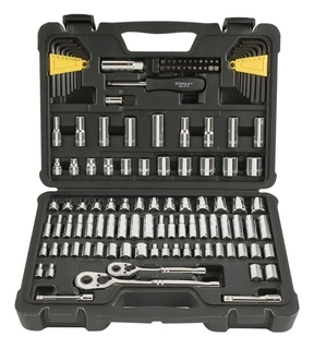 Stanley 123 Piece Socket Set - STMT71652