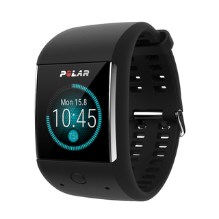 Android Wear GPS Sport Watch with HR Monitor - Black - M600-BLK