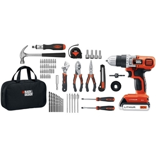 B&D 20-Volt Lithium Drill and Project Kit - LDX120PK