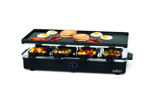 Salton 8-Person Party Grill/Raclette - PG1645