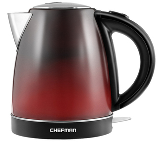 Chefman 1.7L Colour Changing Cordless Kettle- RJ11-17-CC