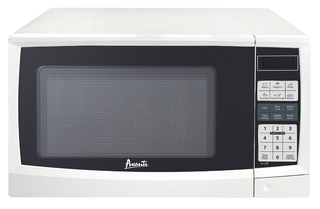 Avanti 900 Watt - 0.9 Cu Ft Microwave - White - MT9K0W