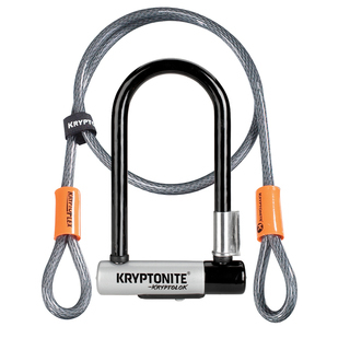 Kryptonite Kryptolok Series 2 U-Lock Standard w/4ft Flex Cable-001966