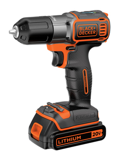 B&D 20V MAX* Lithium Drill/Driver with AutoSense™ Technology - BDCDE120C