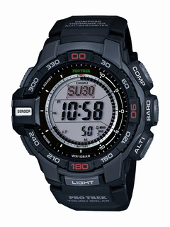 Casio Triple Sensor Solar Watch - PRG270-1