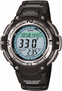 Casio Twin Sensor Digital Mens Sport Watch - SGW100-1V