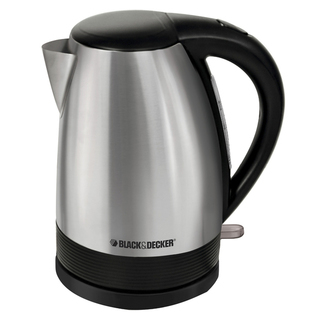 B&D 1.7L Cordless Stainless Steel Kettle - KE1518SD