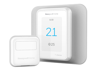 Honeywell T9 Smart Thermostat with Smart Room Sensor - RCHT9610WFSW