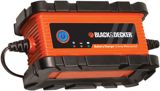 B&D 6 Amp Waterproof Battery Charger - BC6BDW-CA