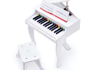 Hape Deluxe Grand Piano - White - E0338