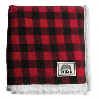 Kuma Lumberjack Sherpa Throw - 60