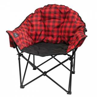 Kuma Lazy Bear Chair - Red Plaid - 433-KM-LBCH-RB Product Image