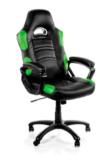 Arozzi Basic Gaming Chair - Green - ENZO-GN