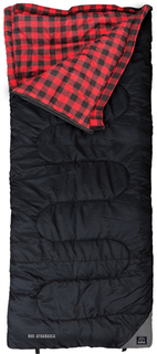 Kuma Athabasca Sleeping Bag - Black/Red- 800-KM-ASB-BR